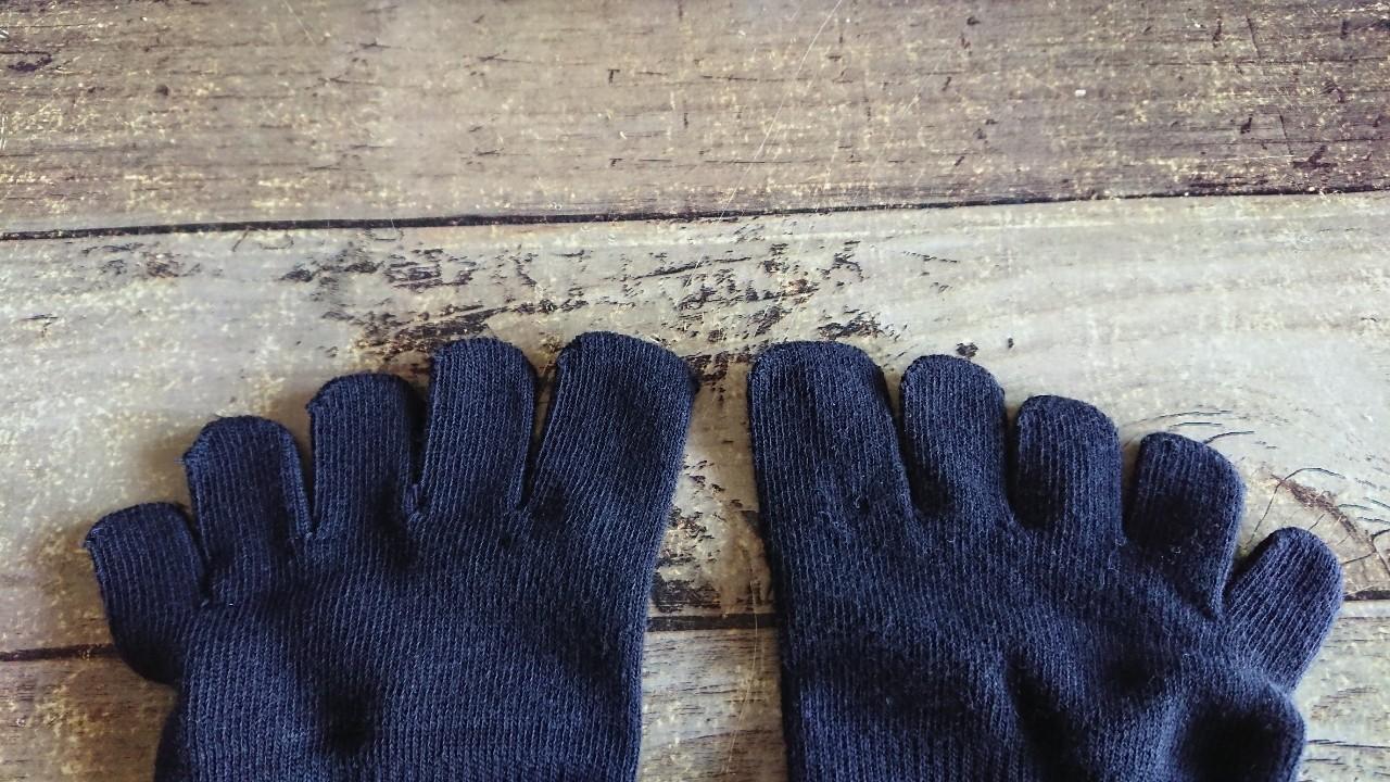 ワークマン5本指靴下